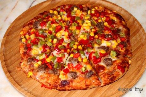 Tam Buğday Unundan Pizza2