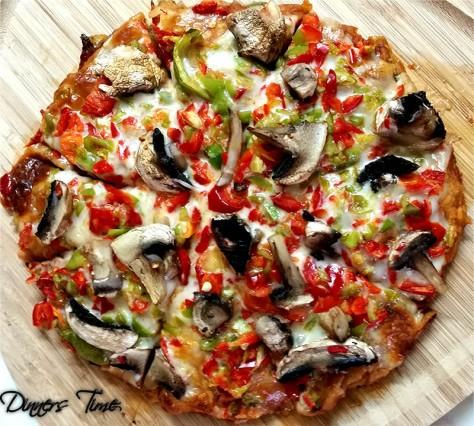 yufka ekmek pizzası