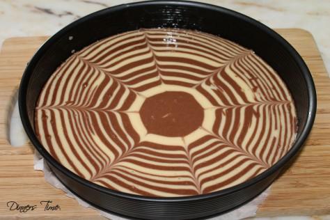 zebra kek pişmemiş hali